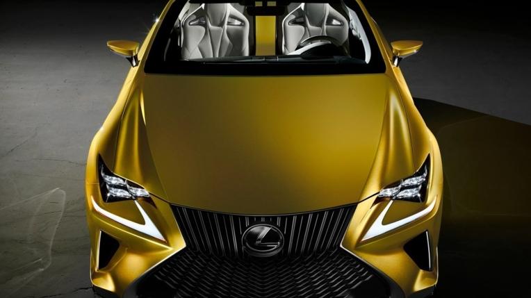 2017 lexus lf c2 concept convertible novo Carro novo