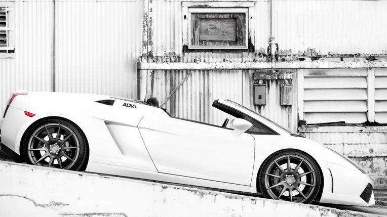 lamborghini gallardo spyder adv1 wheels novo Carro novo